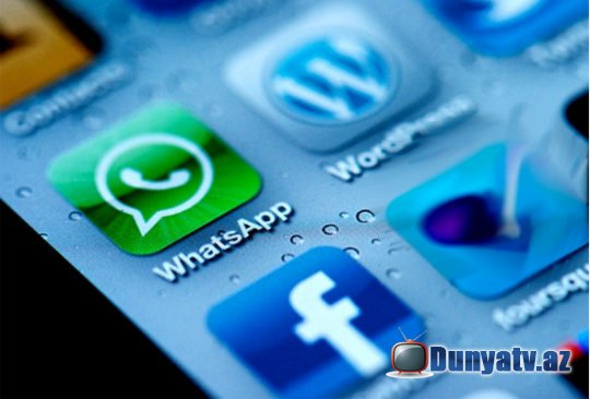 """Facebook"" ""WhatsApp""ı alır"