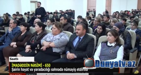 İmadəddin Nəsimi- 650-video-09.12.2019