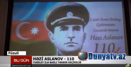 Həzi Aslanov 110-video-23.01.2020
